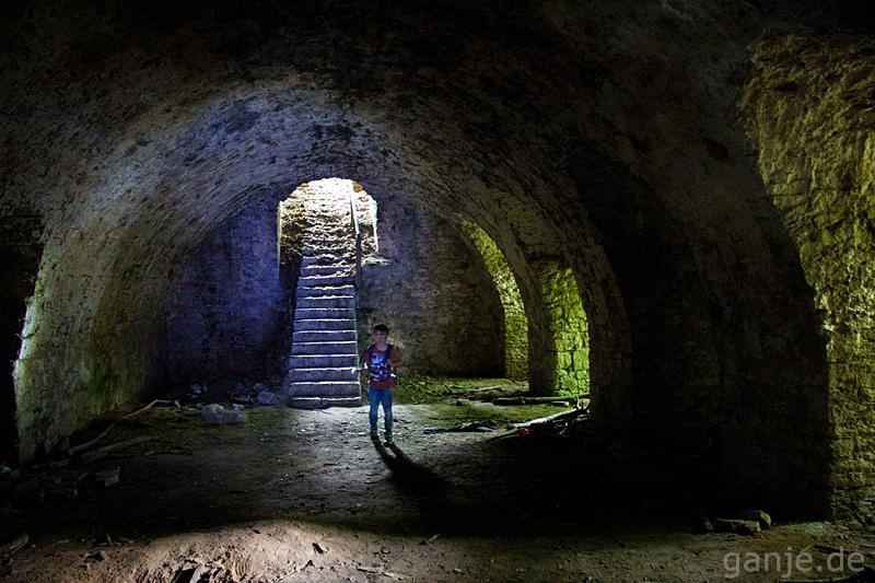 Lost Places Ruine Teufelsschanze Landesgartenschau Zellerau Würzburg