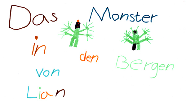 Das Monster in den Bergen