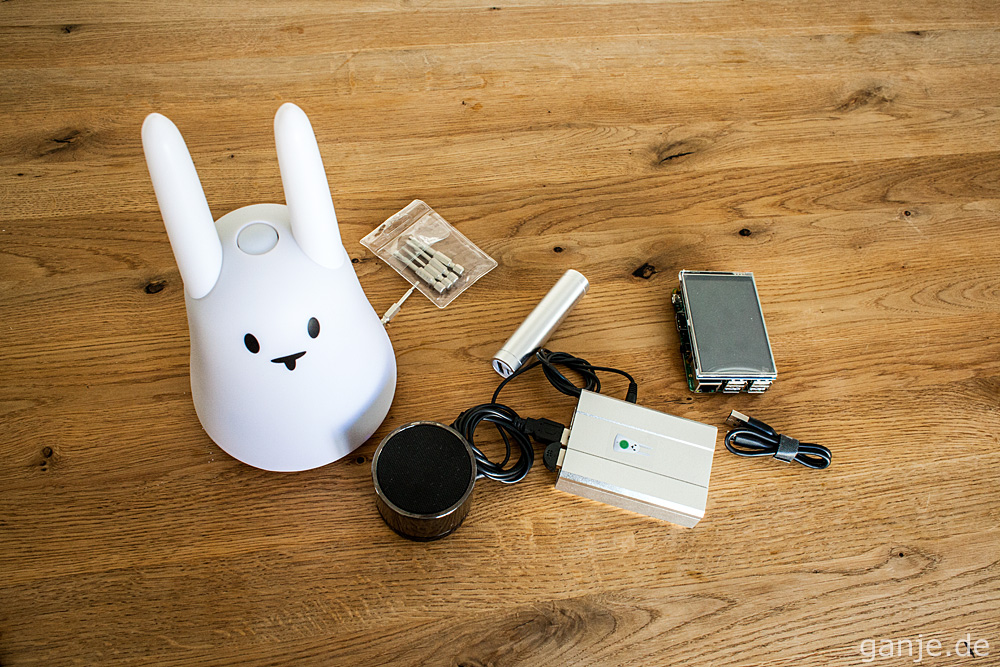 Raspberry Pi + Alexa im Nabaztag-Gehäuse